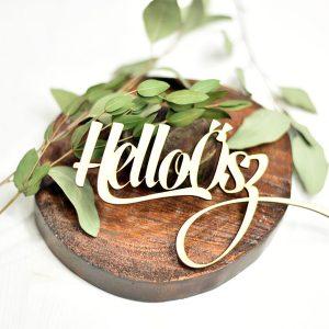 Hello Ősz felirat